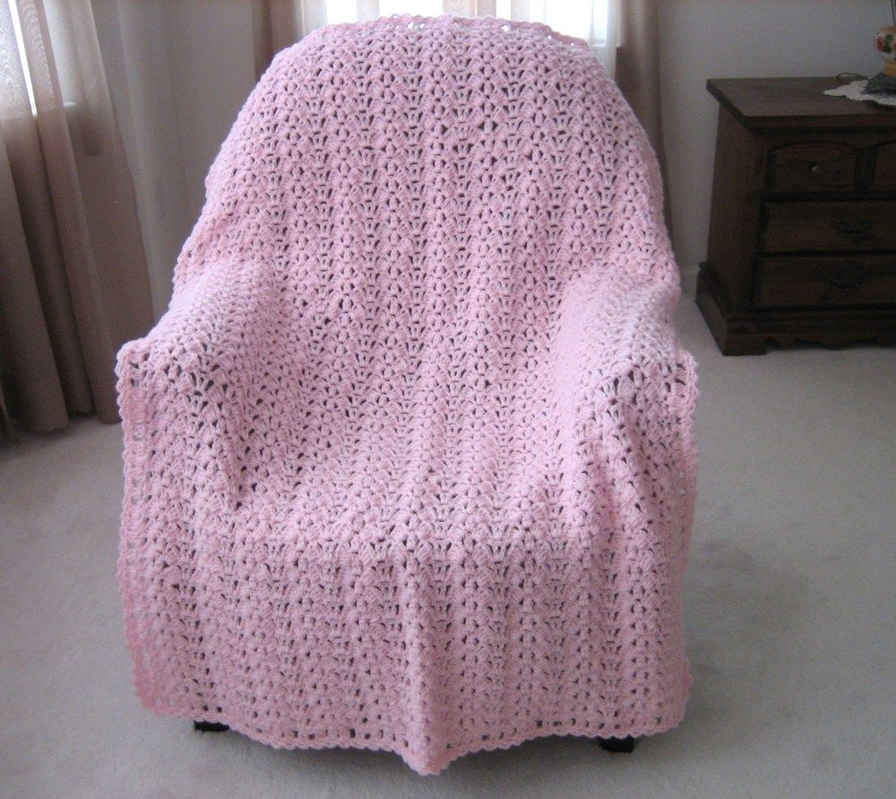 Butterfly Wings Free Crochet Afghan Pattern | Bordes de ganchillo ...