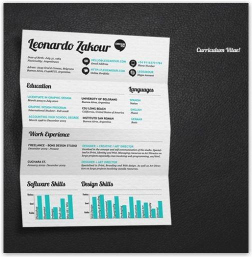 cv design inspiration - Buscar con Google CV Pinterest - resume design inspiration