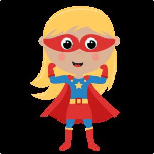 Girl Superhero Cut Files Svg Cutting Files For