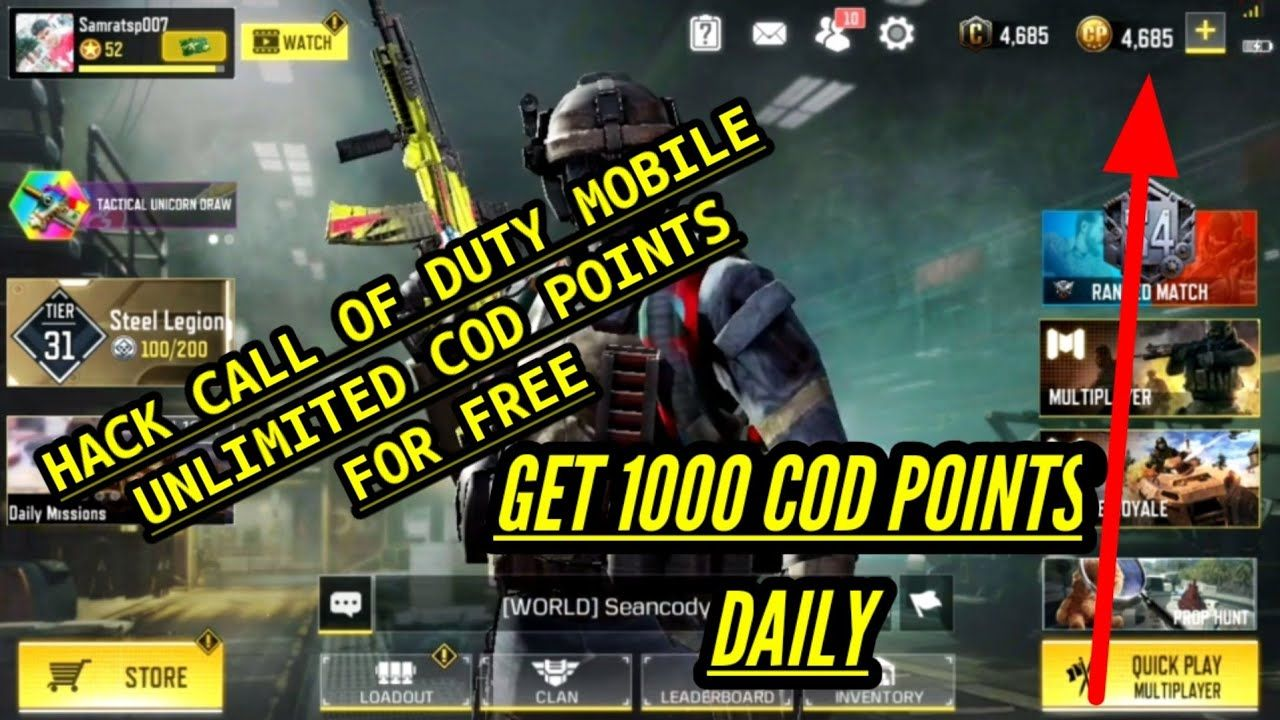 Call of duty hack app in 2020 Call of duty, Duties, Call