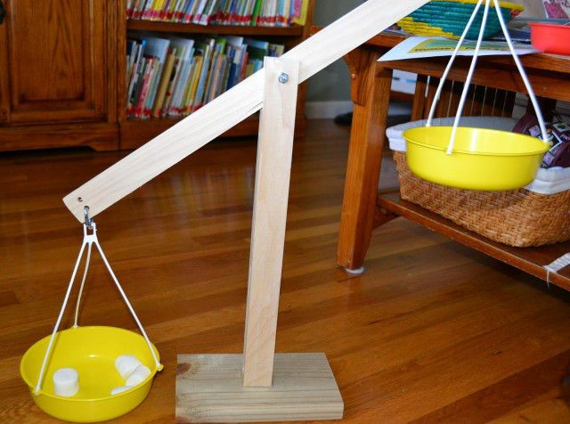 Weigh To Go 9 Diy Balance Scales Diy Preschool Maths Day Science For Kids
