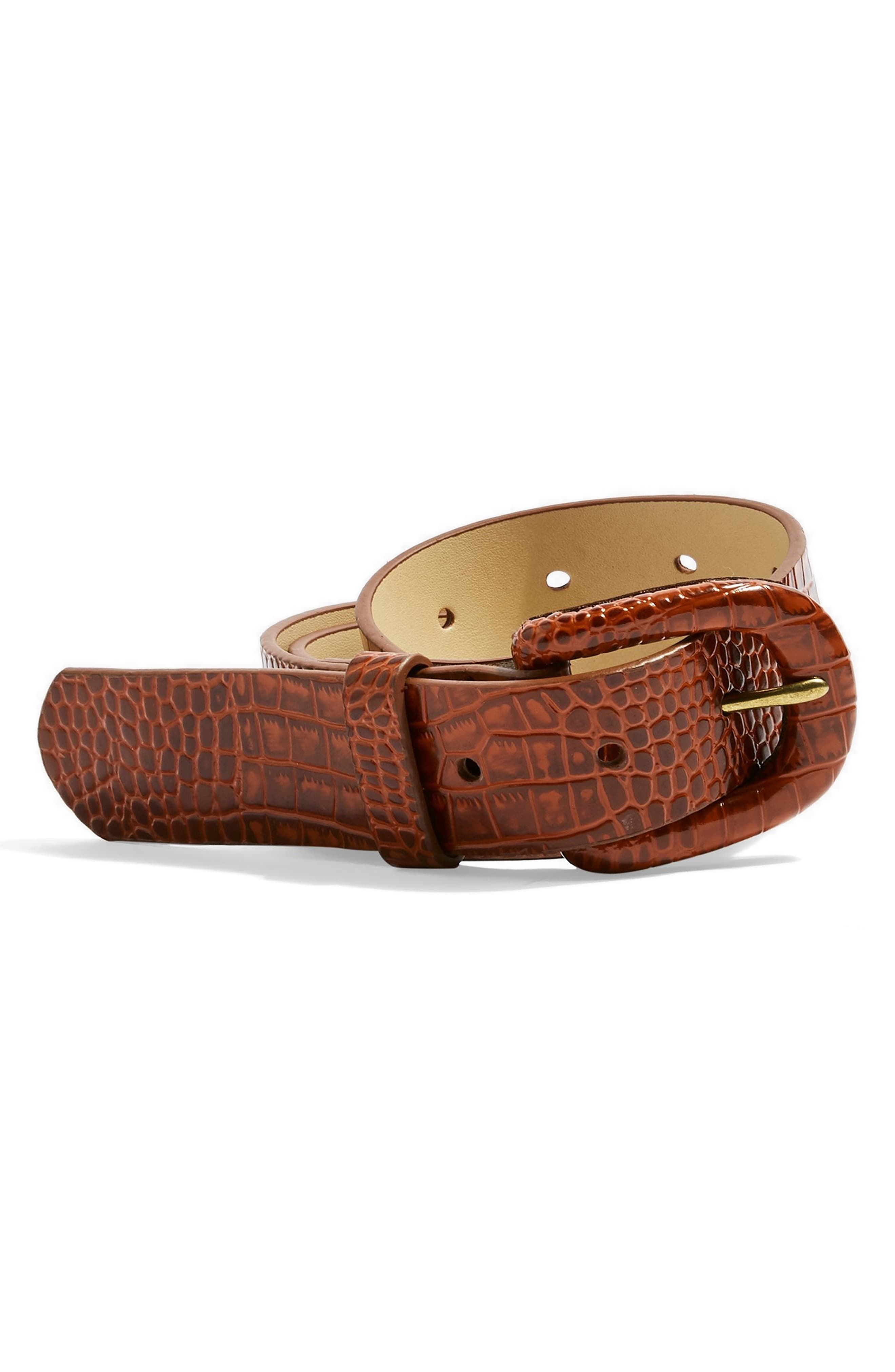 Genuine Quality Vegetable Tanned Leather Woven Plaited Braided Men Leather Belt