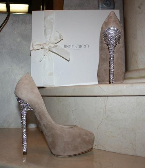 glitter jimmy choos
