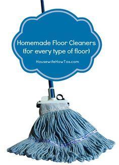 Homemade Floor Cleaner Recipe Homemade Floor Cleaners