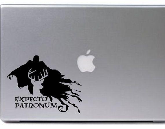 DEMENTOR decal sticker for MACBOOK Apple HARRY POTTER