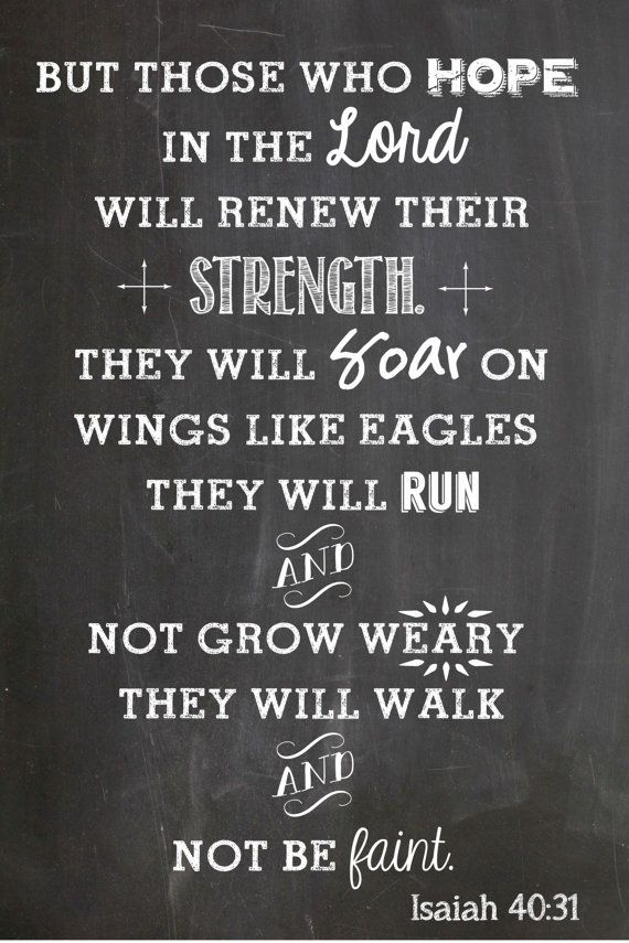 The 25+ best Isaiah 40 31 ideas on Pinterest | Bible quotes for strength, Religious quotes ...