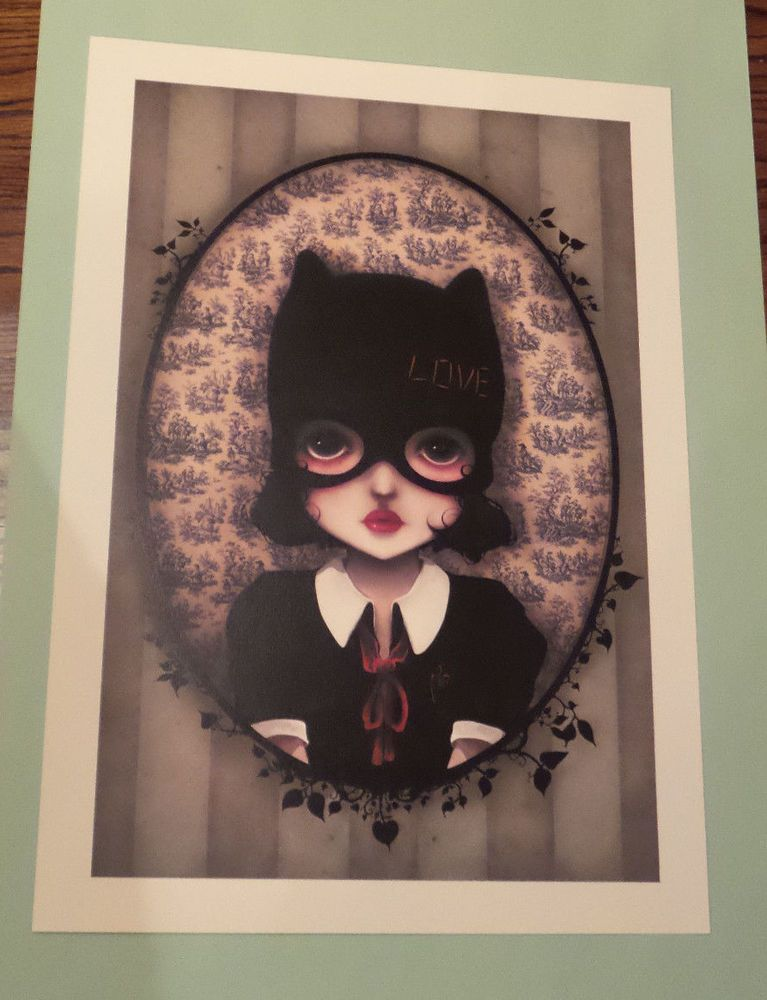 CANVAS Cat Woman#6. Art Print POSTER
