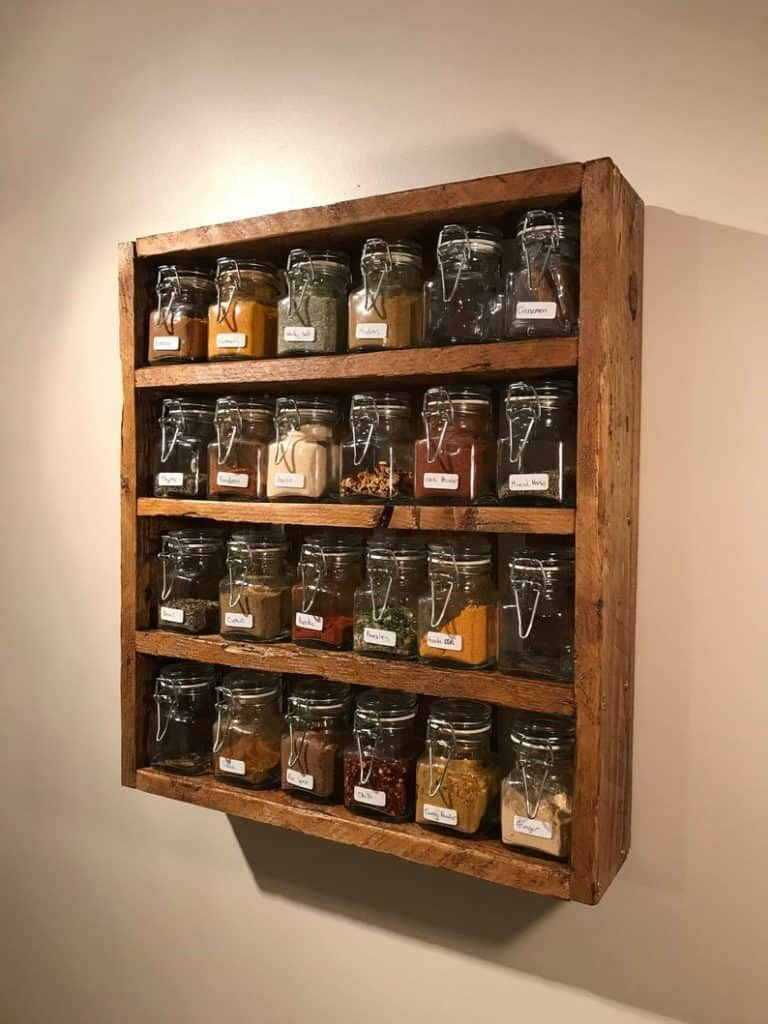 6 Awesome Spice Storage Ideas For Small Kitchens Learn Along With Me Diy Kitchen Storage Diy Storage Rack Handmade Kitchens