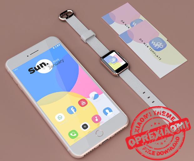 Xiaomi Theme TooSweet Mtz Full Tema Paling Simple Dan Adem