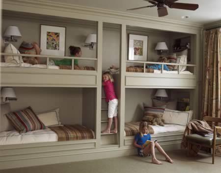 Letti a castello: idee particolari per bambini e adulti [FOTO ...