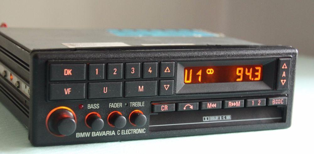 Bmw Becker Be0728 Bavaria C Electronic Tape Radio E24 E28 E30 E31 E32 Top Cond Becker Car Audio Subwoofers Custom Car Audio Radio
