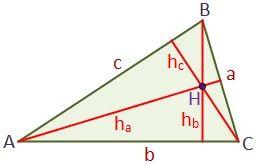 Altura De Un Triángulo Geometría Plana Triangulo Isosceles Triangulo Escaleno