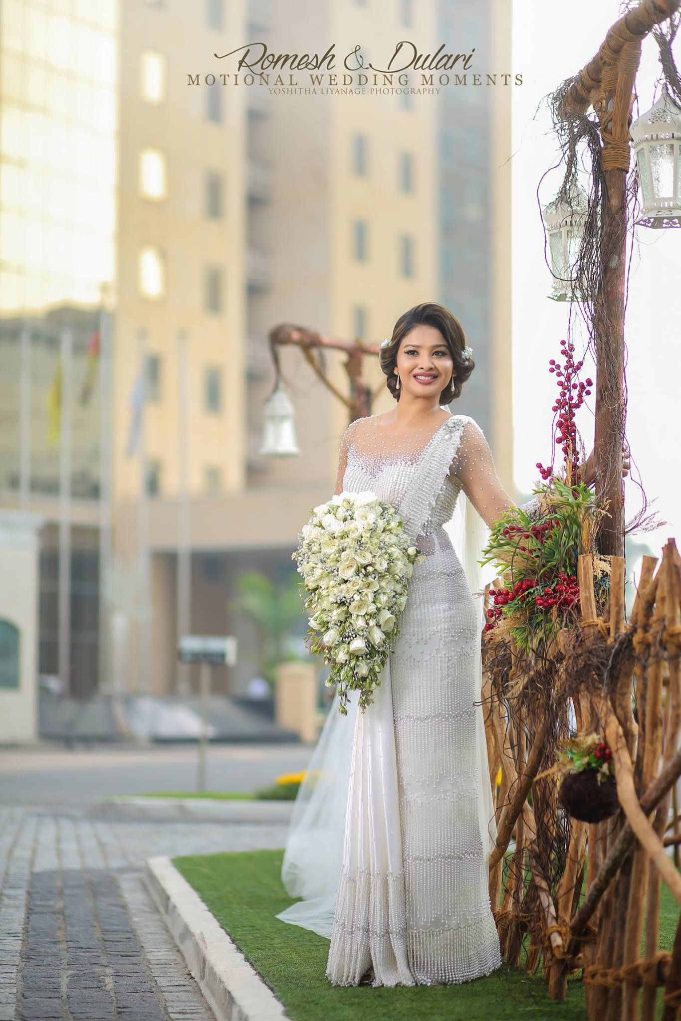 Salon chandimal sri lanka sri lankan weddings for Sri lankan wedding dress