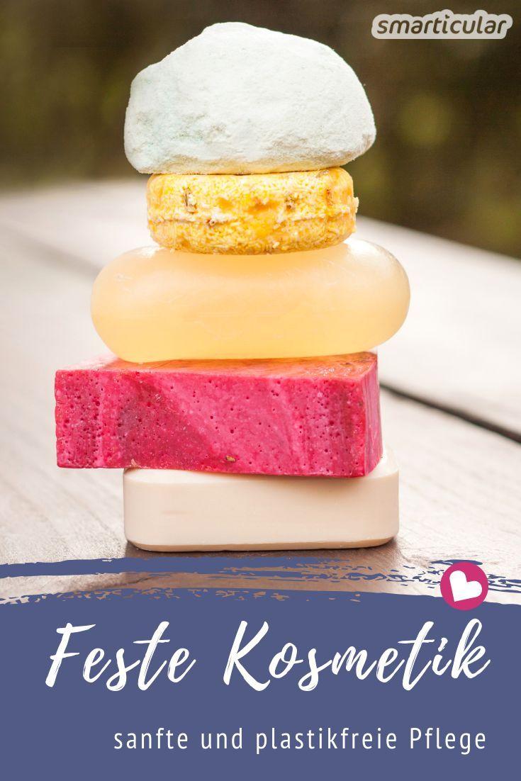 Feste Kosmetik - plastikfrei, (fast) abfallfrei, praktisch für unterwegs #homemadeskincare
