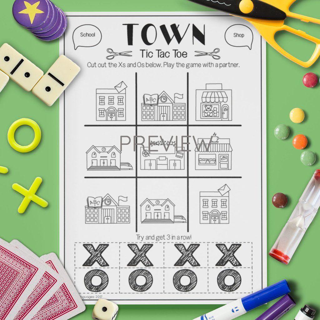 Pin On Esl Kids Town Speaking Games