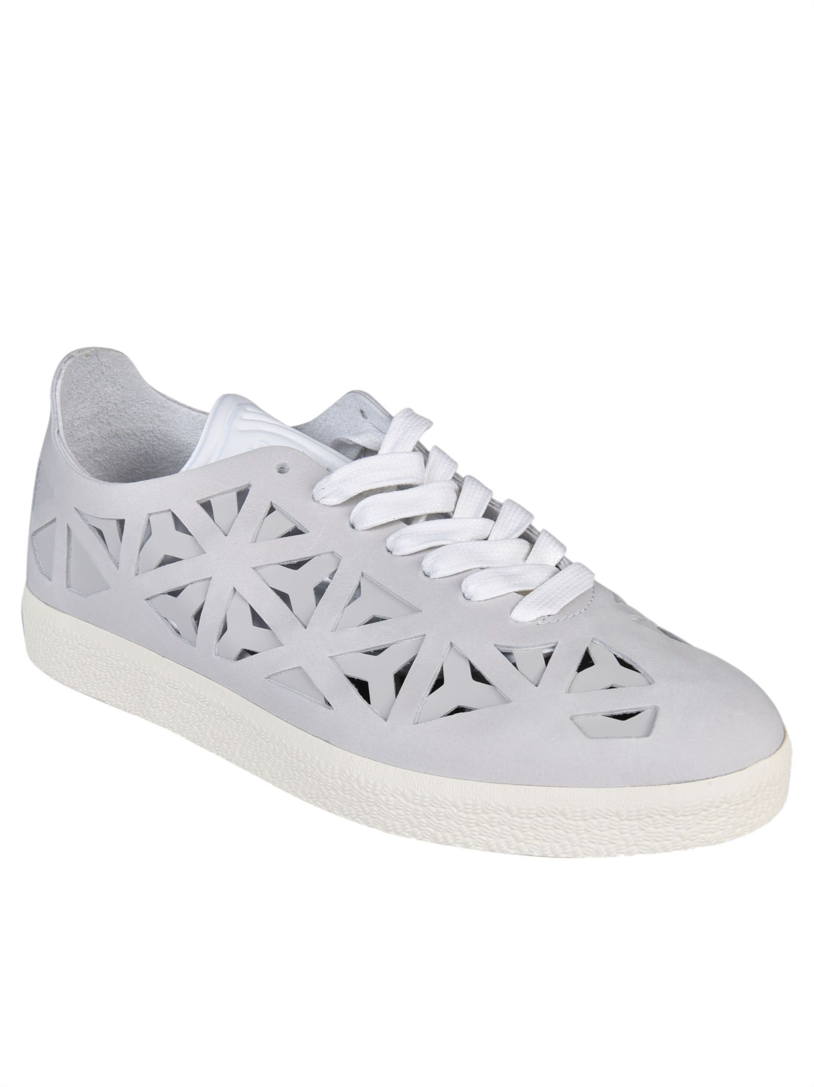 official photos 12141 4abba Adidas - Adidas Gazelle Cutout Sneakers - White, Womens Sneakers  Italist