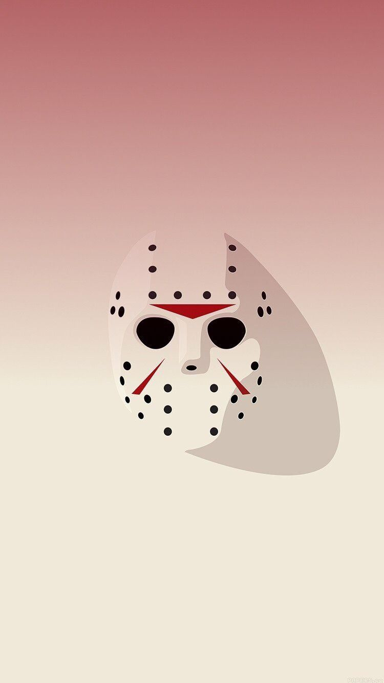 Jason Friday The 13th Abstract Wallpaper Iphone Clean