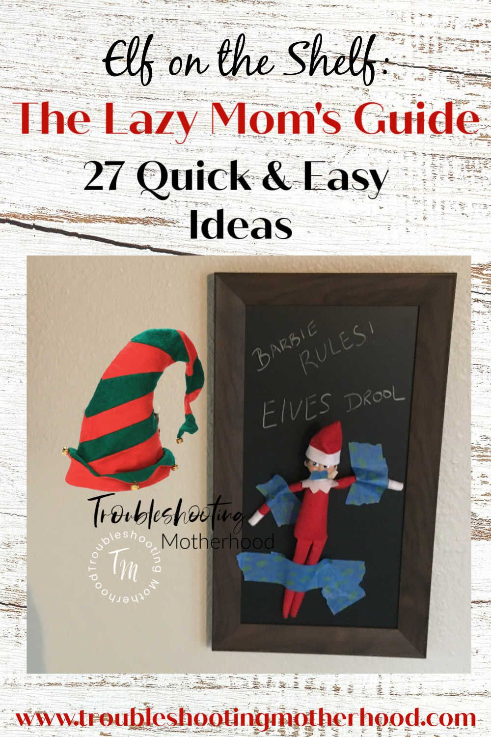 Quick & Easy Ideas for Moving your Elf on the Shelf