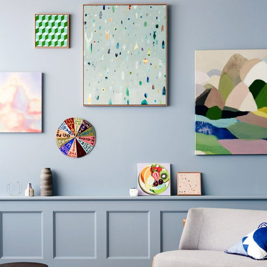 The Design Files Open House 2014   Gallery wall   Pinterest   Tinta ...