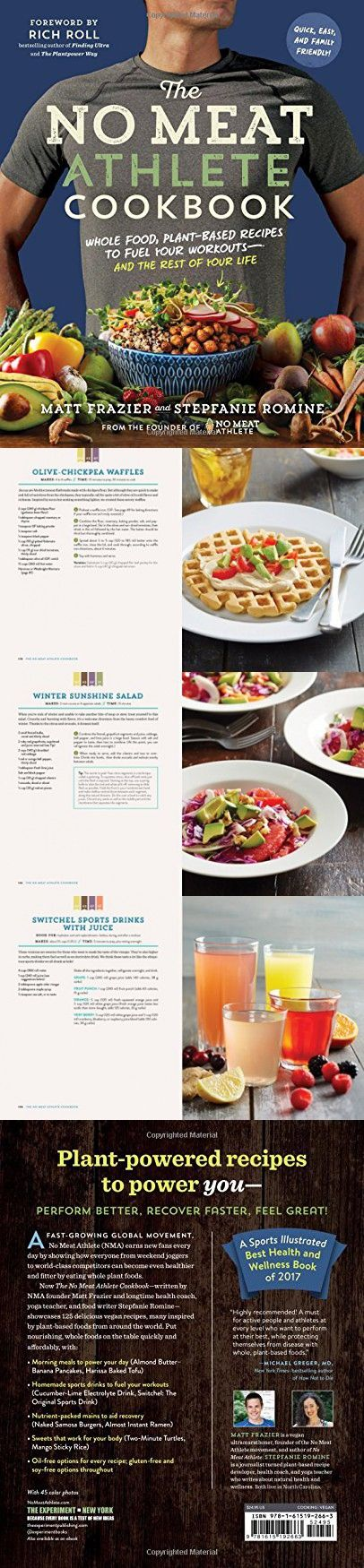 The No Meat Athlete Cookbook Whole Food Plant Based Recipes To Fuel Your Workoutsa A A And The No Meat Athlete Cookbook Whole Food Recipes Vegan Food Truck