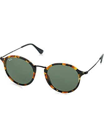 5abdc4ddece5c Ray-Ban ACETATE MAN SUNGLASS - SPOTTED BLACK HAVANA Frame GREEN Lenses 49mm  Non-Polarized ❤ Ray-Ban Sunglasses