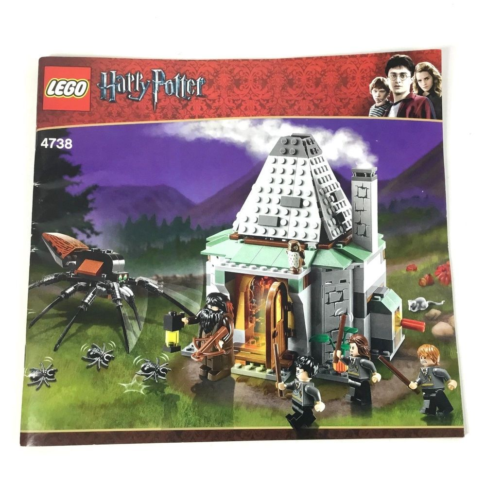 INSTRUCTION MANUAL For LEGO 4738 3rd edition HARRY POTTER Hagrid/'s Hut