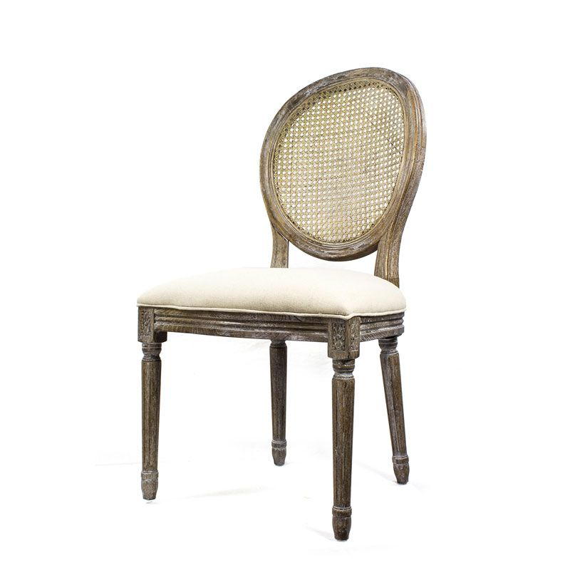 Stone Washed Louis Chair | Modern Rustic Collection ...