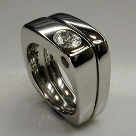 Nice For The Hubby Mens Wedding Rings Cool Wedding Rings Unusual Wedding Rings