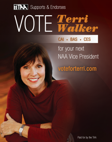 Check out www.voteforterri.com and see who Terri Walker is.   She is a mentor of mine, someone I have always looked up to.