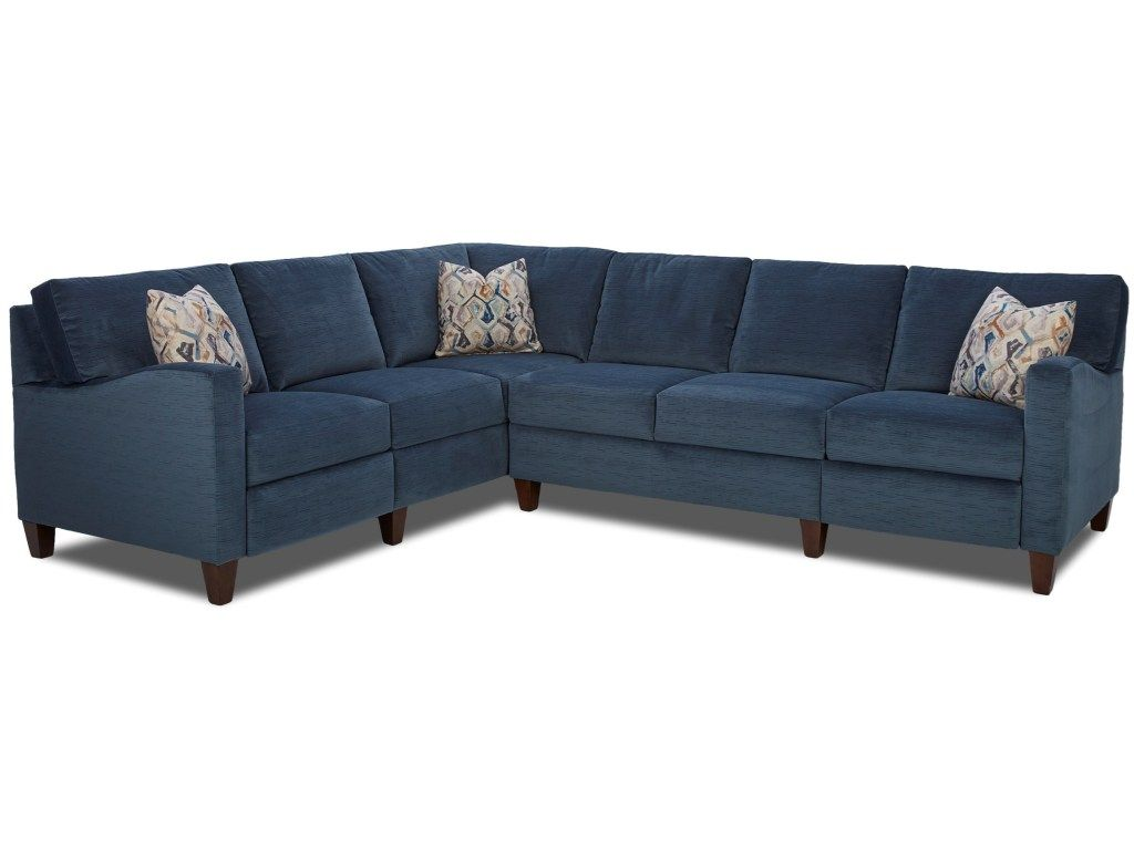 Colleen Hybrid Reclining Sectional with LAF Corner Sofa by ...