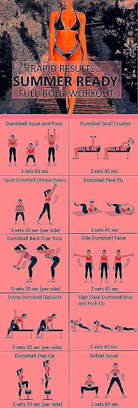 #Fitness #Workout für Frauen - sommerfertiges Körpertraining, #Fitness #von ...   - fitness exercise...