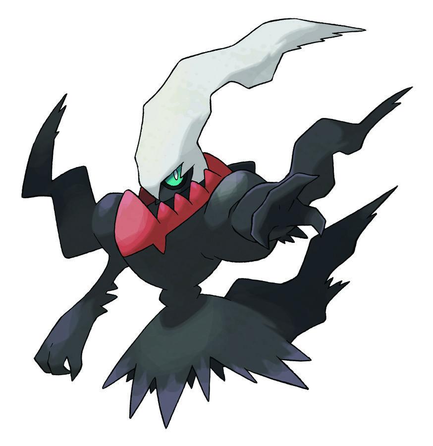 Pokemon Players Get Darkrai Card Game Expansion Dark Pokemon Pokemon Pokemon Characters