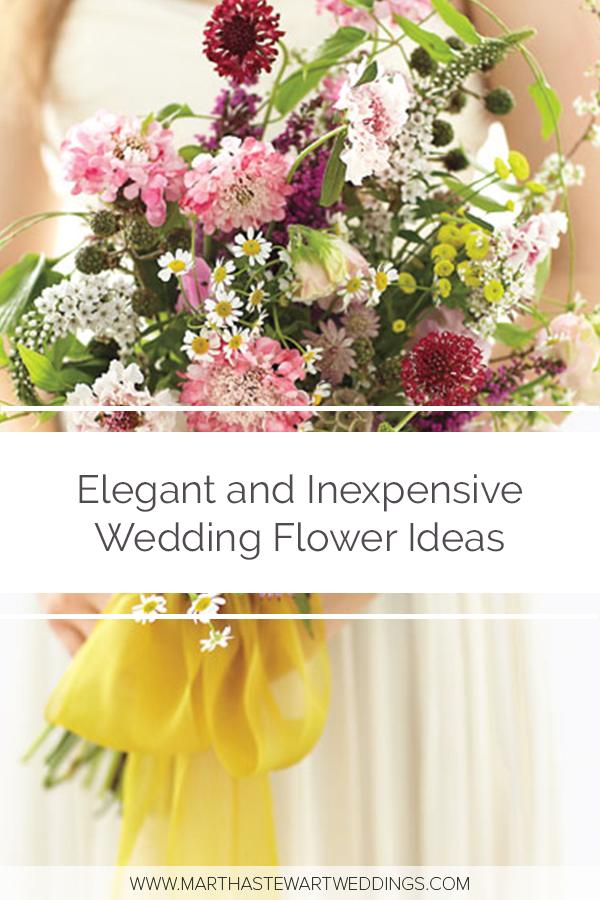 elegant and inexpensive wedding flower ideas wedding flowers rh pinterest com