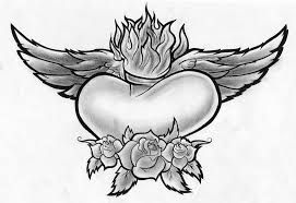 Image result for heart with wings