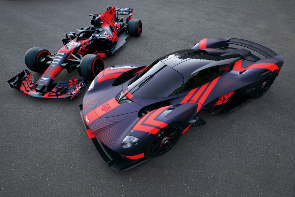 Aston Martin Valkyrie And Red Bull S Current Rb15 Aston Martin