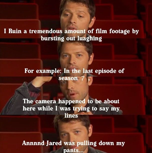 I imagine working with Jared is probably the most trying thing any actor could ever do...