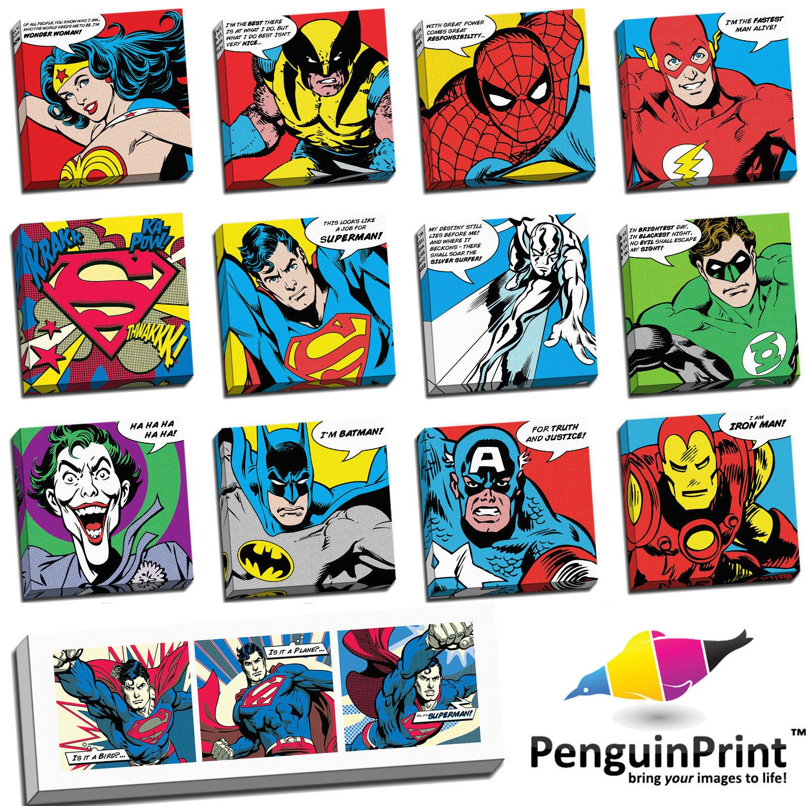 Details About Retro Pop Art Comic Book Ben Day Wall Art On Premium