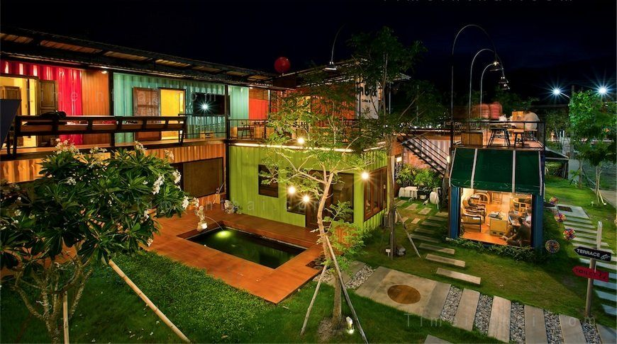 Snooze Box Hotel u2013 colourful container hotel in Chiang Mai Mimari - fresh blueprint design chiang mai