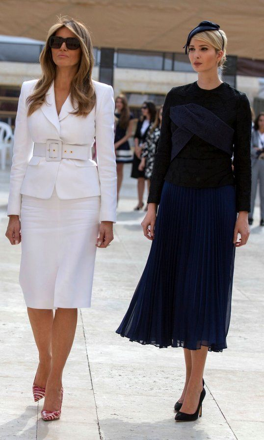 Melania Trump Style See What And Who The First Lady Has