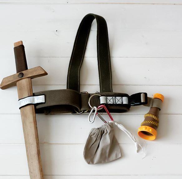 DIY Kids Adventure Belt