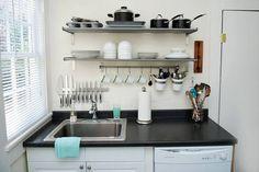 55 Desain Rak Dapur Minimalis Dan