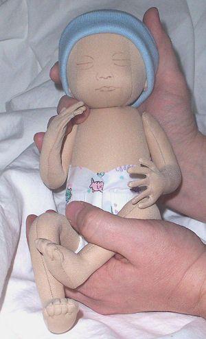 Preemie Cloth Doll Pattern | Babys | Pinterest | Puppen, Frühchen ...