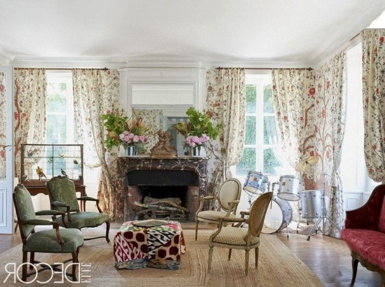 40 unbelievable french country living room design ideas bedroom rh pinterest com