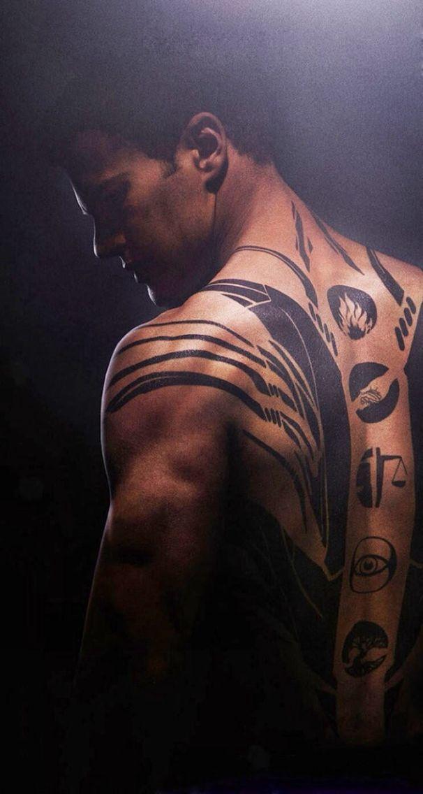 Four Divergent Theo James Divergent Movie Poster Divergent