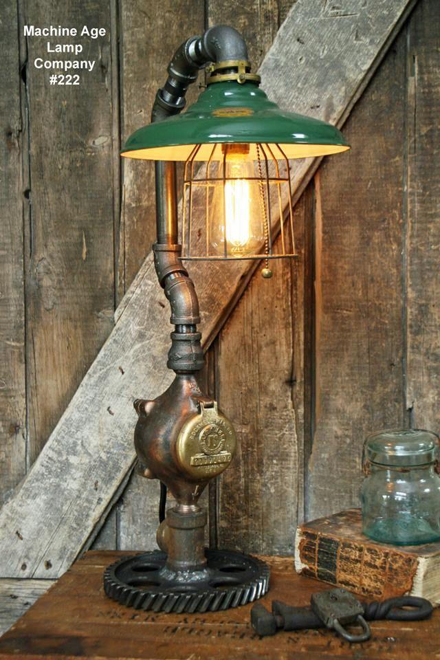 Machine Age Lamp Company Lamp 222 Machine