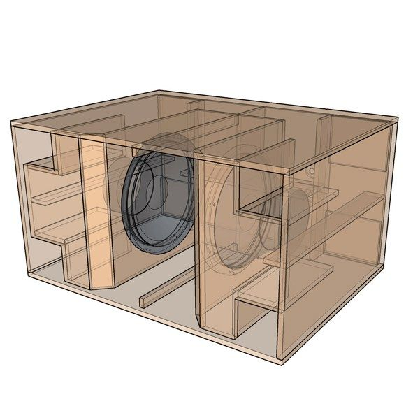 Best Subwoofer Box Design For Deep Bass Subwoofer Box Design Subwoofer Box Speaker Plans