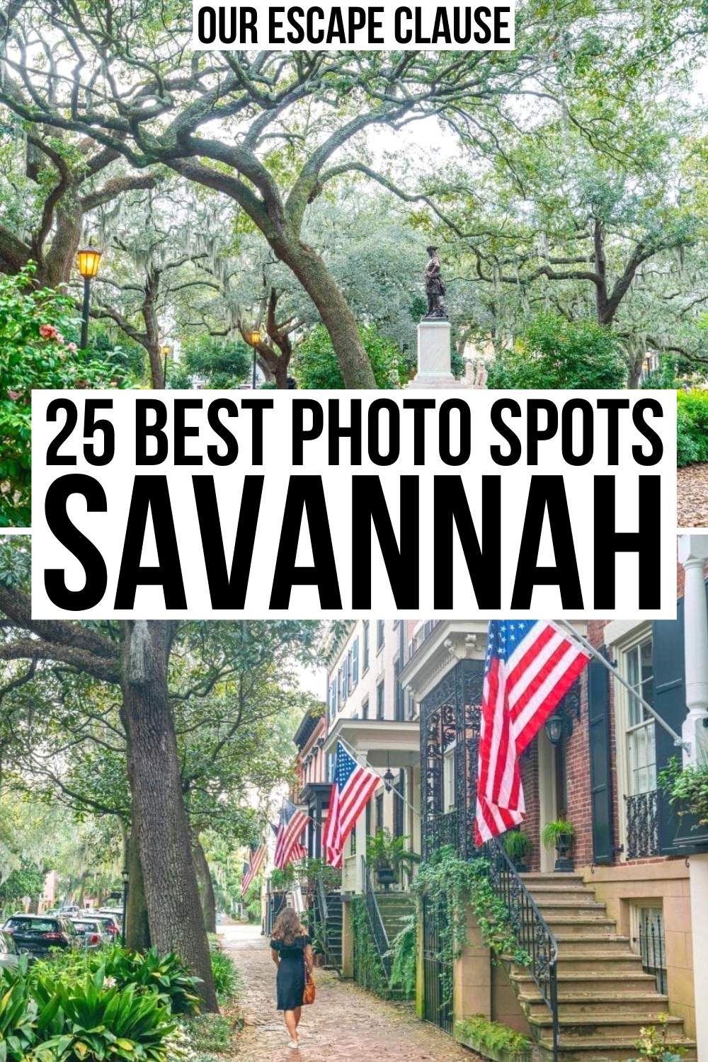 The 10 Most Photographed Places In Savannah Savannah Chat Savannah Georgia Vacation Georgia Vacation