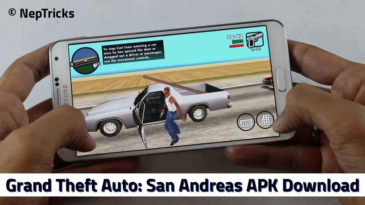 download grand theft auto san andreas for android free apk