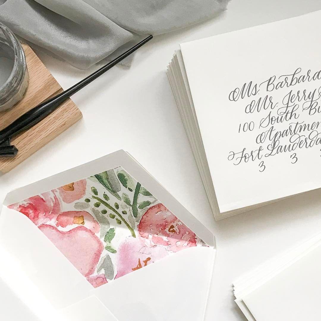 gray and white gray ink wedding invitation
