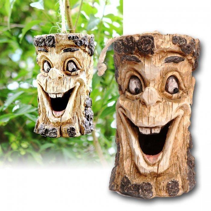 Das Lachende Vogelhaus Baum Gesichter Geschenkideen Geschenke